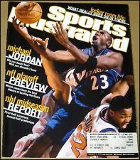 1/14/2002 Sports Illustrated Michael Jordan Washington Wizards Detroit Red Wings
