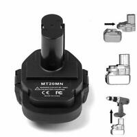 Adapter Converter for Makita 18V Lithium Battery to 18V Ni Cordless Power Tools