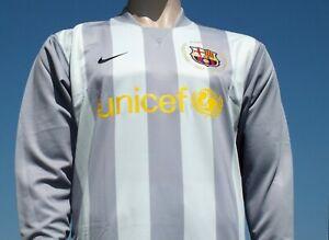 BNWT Barcelona 2007-2008 50th Anniversary Camp Nou Keeper Player Issue Shirt XL