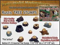 Scale Model Masterpieces OLD TREE STUMPS-MEDIUM #1 (12pcs) Multi Scale