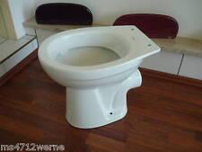 Stand WC-Tiefspüler weiß WC Topf weiß Neu Klotopf gute Verarbeitung neu