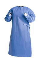 10 Pcs Disposable Isolation Gown SMS Non Woven Breathable Water Resistant