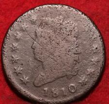 1810 Philadelphia Mint Copper Classic Head Large Cent