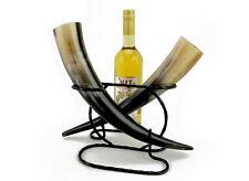 Tischständer & 1 Flasche Met 0,75l Methorn Larp Trinkhorn ca 0,3-0,39l inkl Mittelalter & Gothic Sammeln & Seltenes