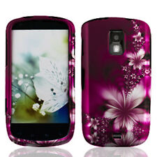 For Samsung Galaxy S Lightray 4G Protector HARD Case Phone Cover Feather Flower