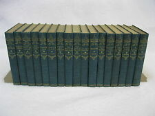 Set of 17 THE LIBRARY OF HOUSEHOLD CLASSICS Doubleday & McClure 1898