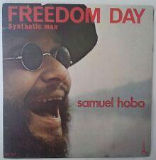 "Jean-Michel Jarre Samuel Hobo Freedom Day Single 7"" Francia 1972"