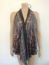 Scarf Multiwear/Beach/ Maternity Wrap Top (Black, Red, Pink And Blue) One Size