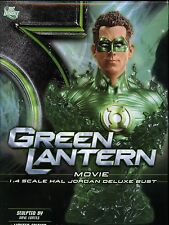 Green Lantern Movie 1:4 Hal Jordan Bust MINT DC Direct