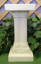 Classical Ionic Pedestal Stand Latex Fiberglass Production Mold Concrete Plaster