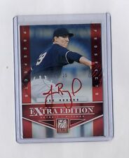 JOE ROGERS 2012 DONRUSS ELITE PROSPECTS RED INK AUTO RC #5/25