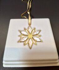 Swarovski Decorazione Stella Dorata - 5064267 - Crystal Christmas Ornament - NEW