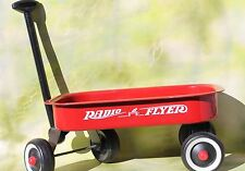 """Vintage Radio Flyer Metal Little Red Wagon, 12.5"""" x 7.5"""" Doll / Table Top Size"""