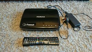 Humax HDR-1100S Smart 1TB Freesat Digital TV Recorder, VGC - Black Box-1