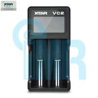 XTAR VC2 2 Channel Digital Battery Charger