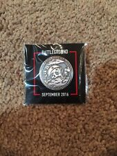 Loot Crate BATTLEGROUND COIN PIN September 2016 GET IT FAST ~ US SHIPPER