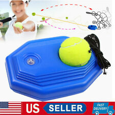 Exercise Tennis Training Tool Ball Trainer Rebound Ball Practice Back Base +Ball