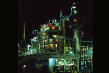 799049 Oil Refinery In Halifax Nova Scotia Canada A4 Photo Print