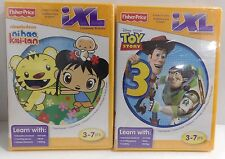 Fisher Price iXL Toy Story 3 and Ni Hao Kai-lan Learning Games New