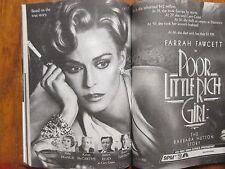 Nov 14,  1987 TV Guide(FARRAH FAWCETT/BARBARA HUTTON/KIRSTIE ALLEY/SHEENA EASTON