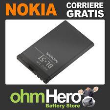 Batteria ORIGINALE per Nokia 5230