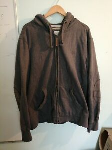 Fat face hoodie grey size XXL as seen micro hole showed on photo