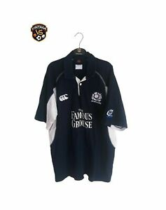 Scotland Rugby Home Shirt 2005-2007 (XL) Canterbury Bank Jersey Famous Grouse