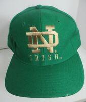 Notre Dame Irish Hat Snapback NCAA Wool Unisex Cap