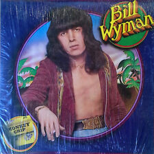 BILL WYMAN - MONKEY GRIP - ROLLING STONE LABEL - 1974 LP - STILL IN SHRINK WRAP