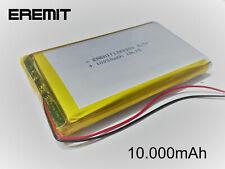 Lithium Polymer LiPo Batterie Akku 10000mAh 3.7 V 1S Powerbank PCB Tablet 10