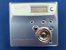 More details for sony mini disc recorder & walkman mz-n505 type r  net md player with earphones