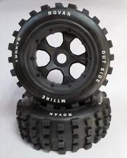 NEW Baja 5T SC Wheel & Knobby Tyre Set Front / Rear fit Rovan 5T SC KM LT Losi*