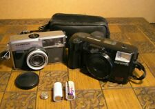 Two Vintage Examples of Olympus 35mm Cameras