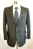 VTG Ray Spasiano 40R Bespoke Pinstripe 100% Wool Sport Coat Suit Jacket Blazer
