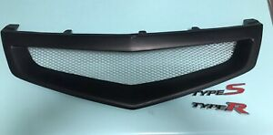 Honda accord euro 06-08 mugen Style Brand New black Grill & type R&S Badges