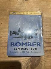 LEN DEIGHTON - BOMBER - BBC RADIO 4       -  AUDIO BOOKS  4 CASSETTES   Sealed