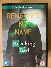 BREAKING BAD ~ Final Season 6 ~ Walter White Drug Dealer Drama Series UK DVD