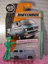 2016 MATCHBOX #95 VOLKSWAGEN TRANSPORTER CAB☆Blue VW; Bike☆TOOLS bed☆EXPLORERS☆