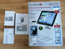Gastronomie Touch Kasse mit Betriebssystem + Lade + rollen Olympia touch 200