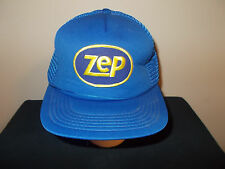 VTG-1980s ZEP Industrial Cleaning Supplies Products mesh snapback hat sku19