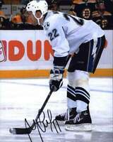 Marek Malik signed NHL hockey 8x10 photo W/Cert Autographed A0005