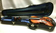 Old English Violin Martin Schoepf 1930 Manchester NH England  # 18 Antique Rare