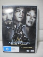 DVD Movie THE THREE MUSKETEERS - R4