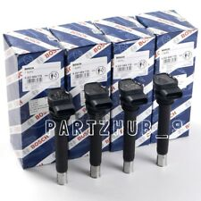 NEW Audi A3 VW CC Set of 4 Ignition Coils OEM BOSCH 06H 905 115 B