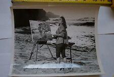 Elizabeth Taylor 1965 Sandpiper Richard Burton Painter Print Still