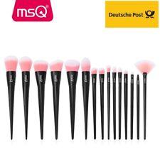 MSQ 15 Stück Makeup Pinsel set Beauty Lidschatten Augenbraue schminkpinsel Brush