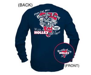 Holley 10015-XLHOL Holley Retro Double Pumper Long Sleeve T-Shirt