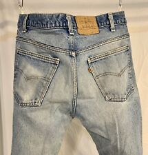 True Vintage Levis Bell Bottoms Levi's 512 585 Levi's ORANGE TAB Denim USA 34x32
