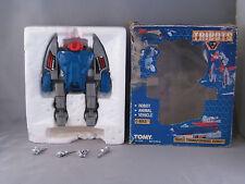 Vintage transformers robots tomy tribots c-bees mib godaikin  triple changer