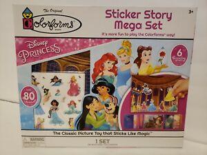 A29 Colorforms Sticker Story Mega Set - Disney Princess over 80 colorforms